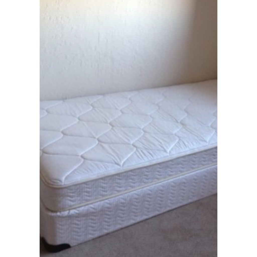 Letgo Twin Mattress With Box Spring In Greenville De