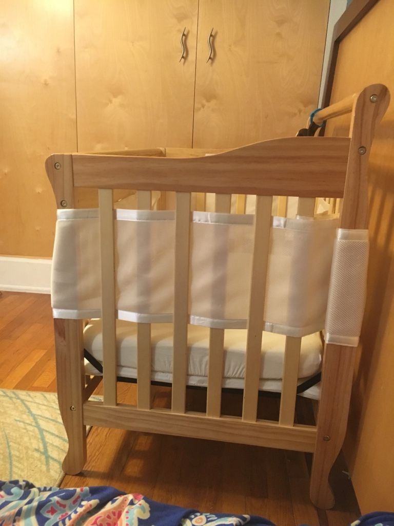 Baby cribs queens ny - Brown Wooden Crib