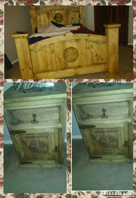 Letgo Only A Year Old Rustic Furniture In Lubbock Tx