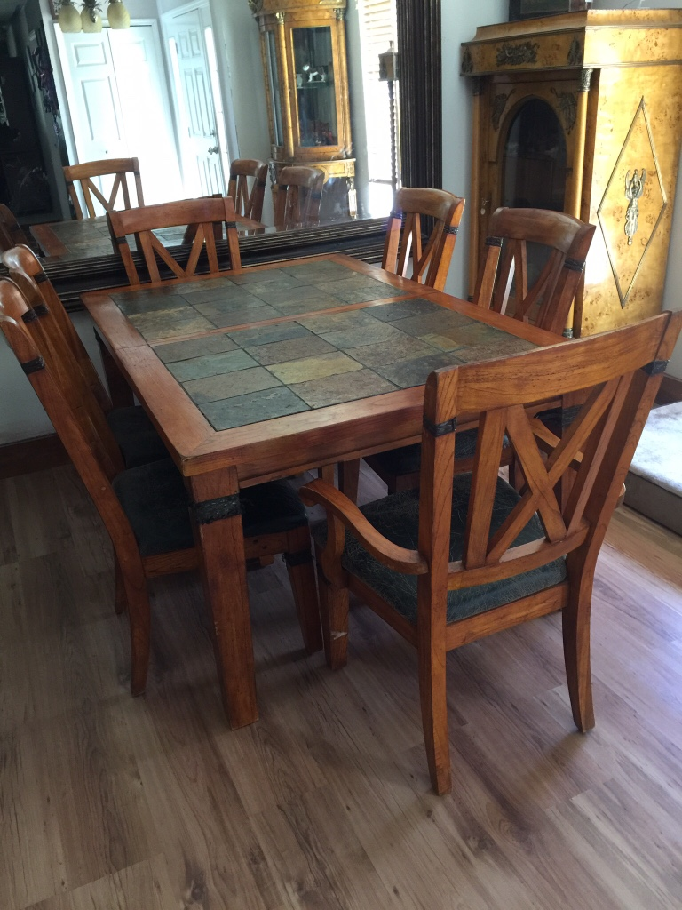 Slate Dining Table Antique Large Slate Top Dining Table Gallery