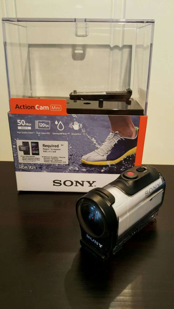 Sony Action Cam + 16GB SD Kort