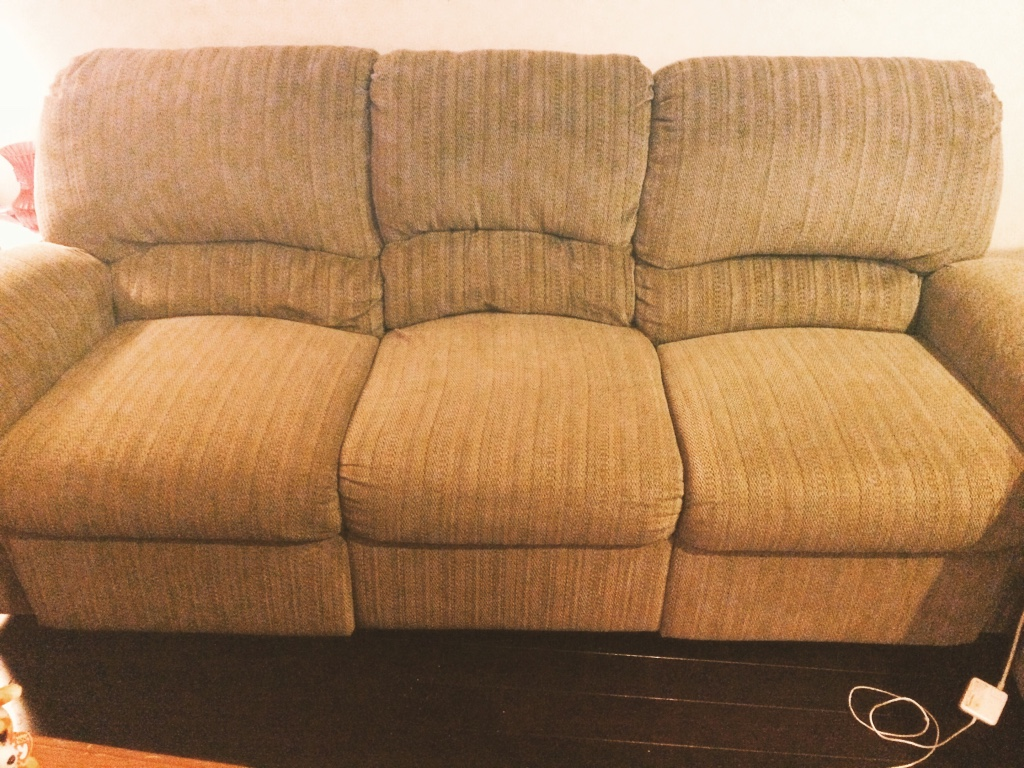 Letgo almost new fabric sofa for sale in chelsea ma for Fabric couches for sale
