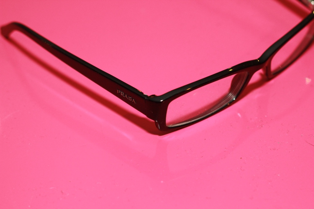 letgo - Prada Black Frame Eyeglasses in Bergen Point, NJ