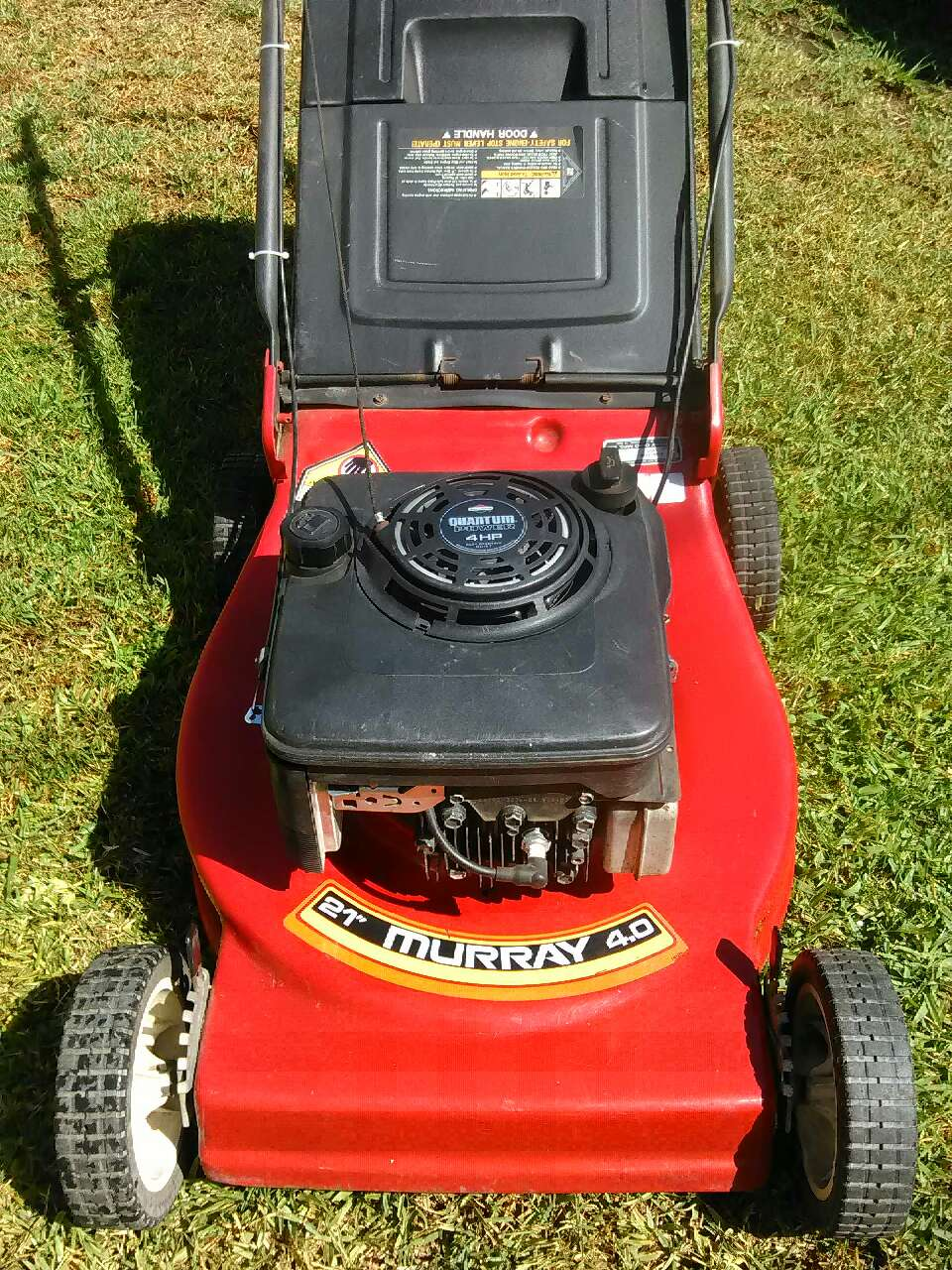 Lawn Mower Grill : Used murray lawn tractor model grill for sale
