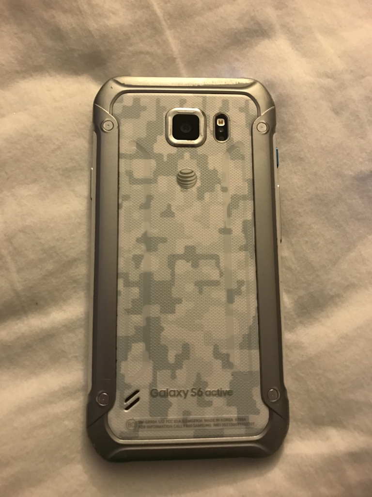 white samsung galaxy s6 active
