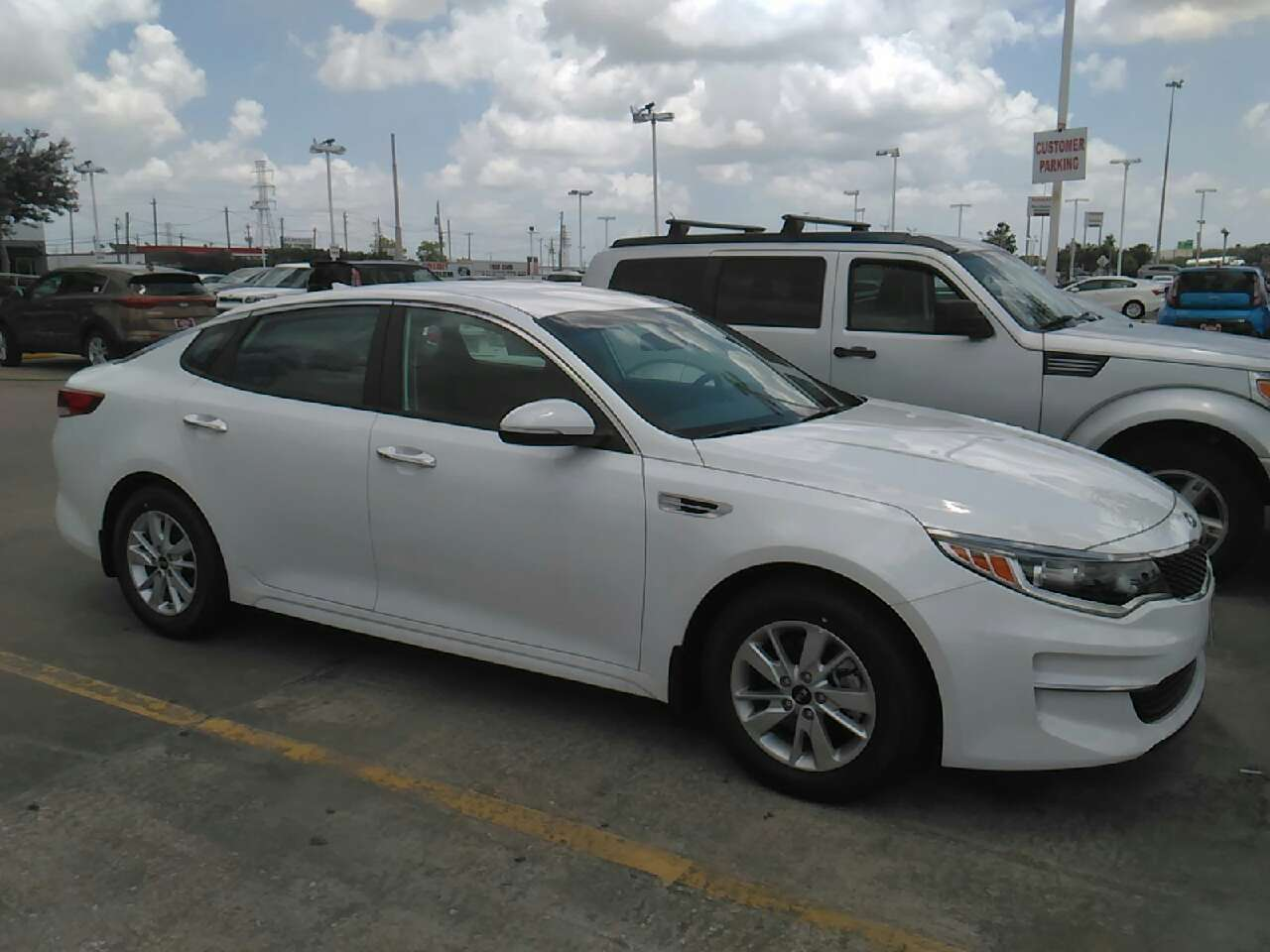 Letgo 2016 Kia Optima In South Houston Tx