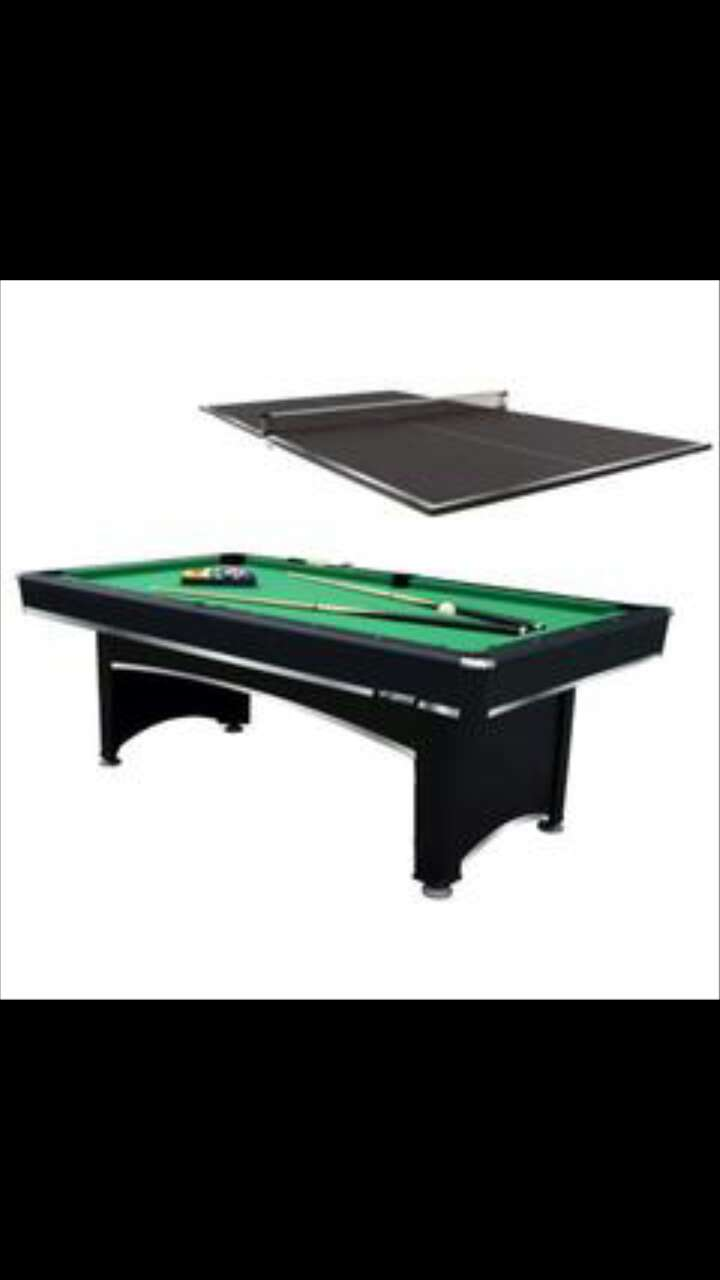 Letgo pool table with ping pong top in harvey la - Table billard ping pong ...