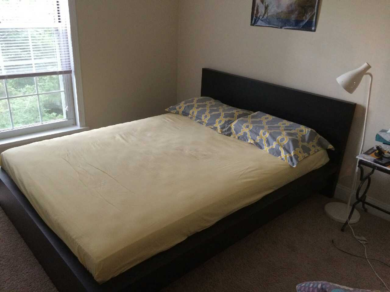 Letgo moving sale queen ikea mattress in ingomar pa Queen mattress sale