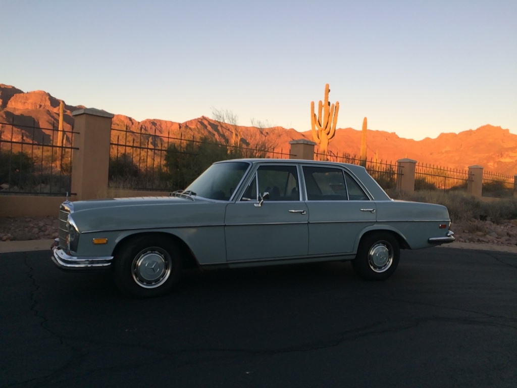 letgo 1972 mercedes benz 280se 4 5 in paradise valley az