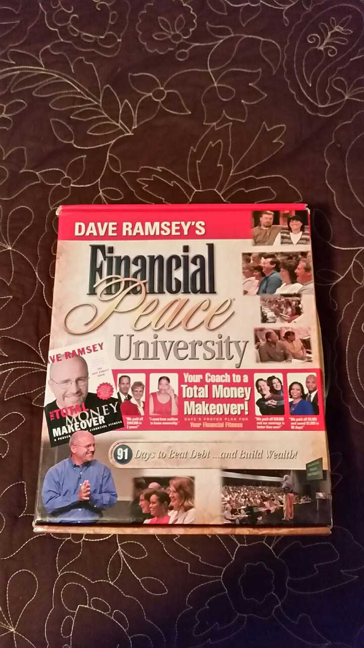 Dave Ramsey's Financial Peace University Audio CD Library 14 + 2 Bonus CD's 2006