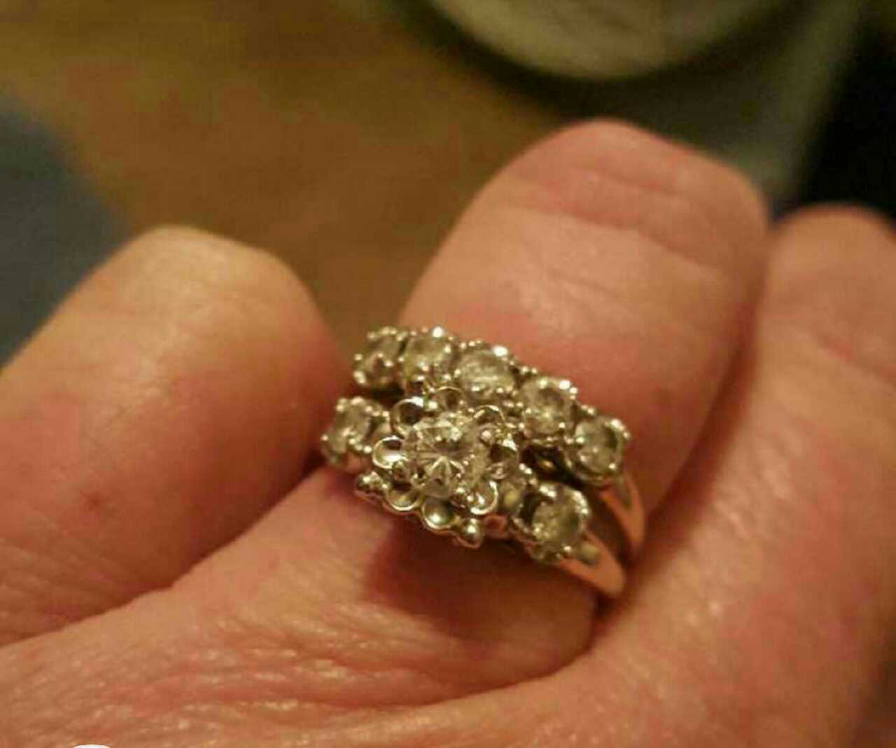 letgo gold and diamond ring in Charlotte NC