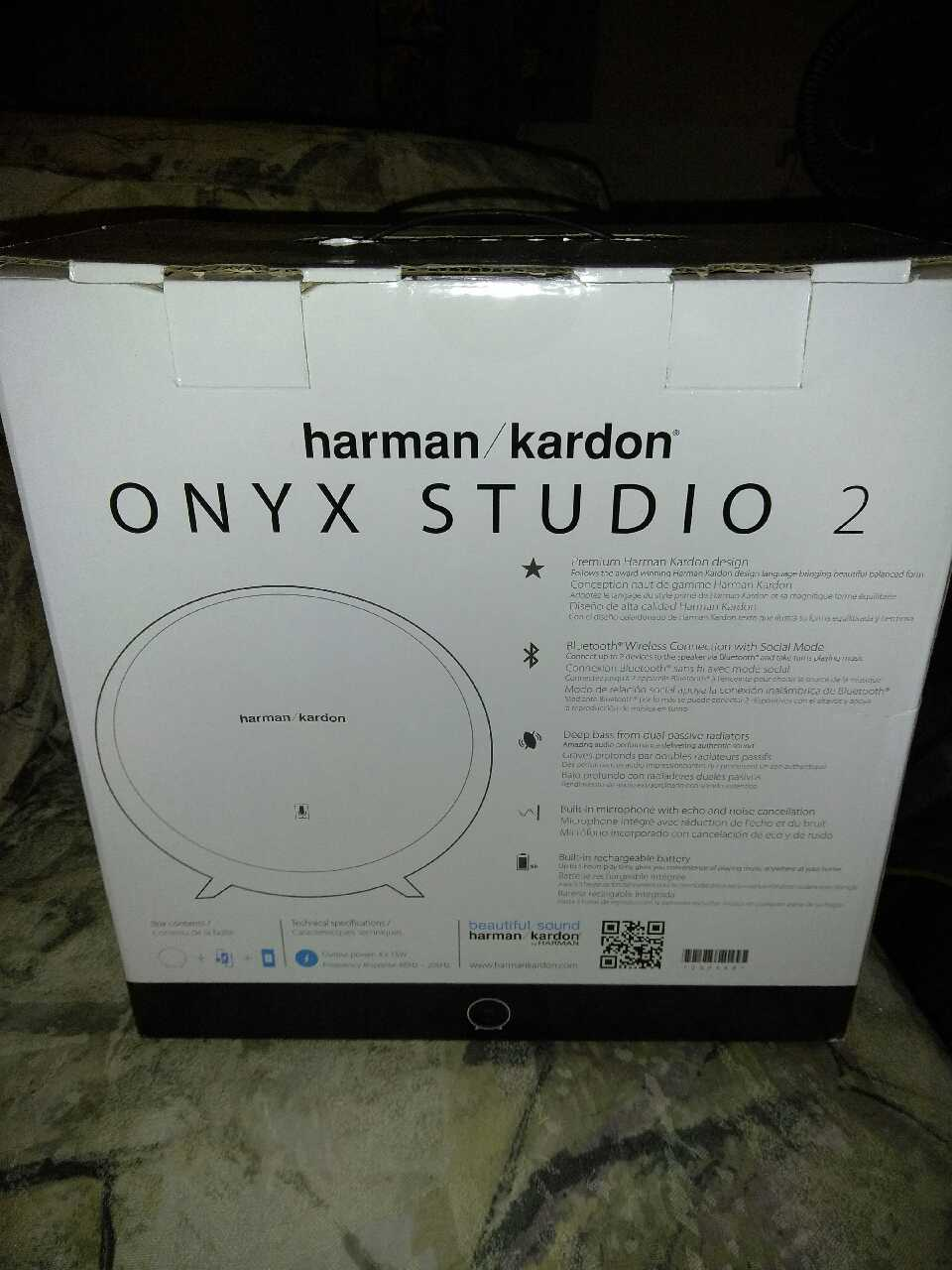 Harman Kardon Onyx Studio 2 Owners Manual