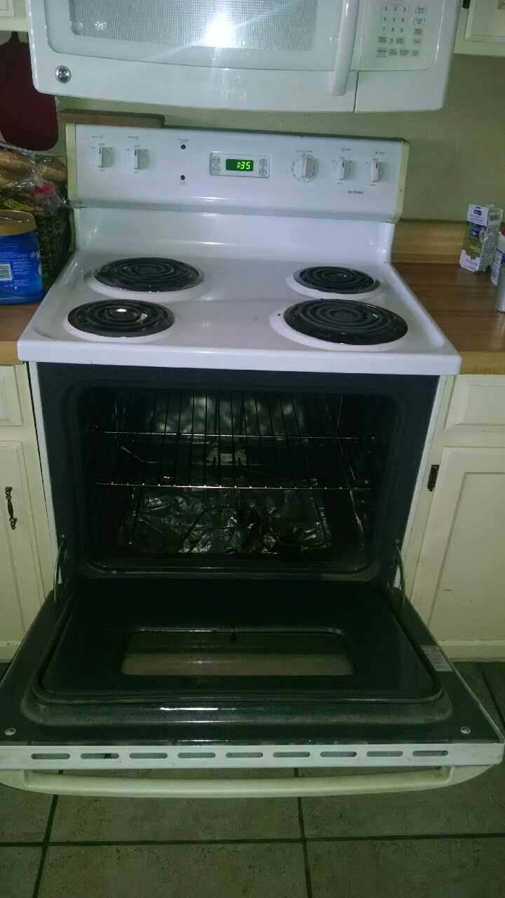 Letgo white oven stove for sale in phoenix az for What is the bottom drawer of an oven for