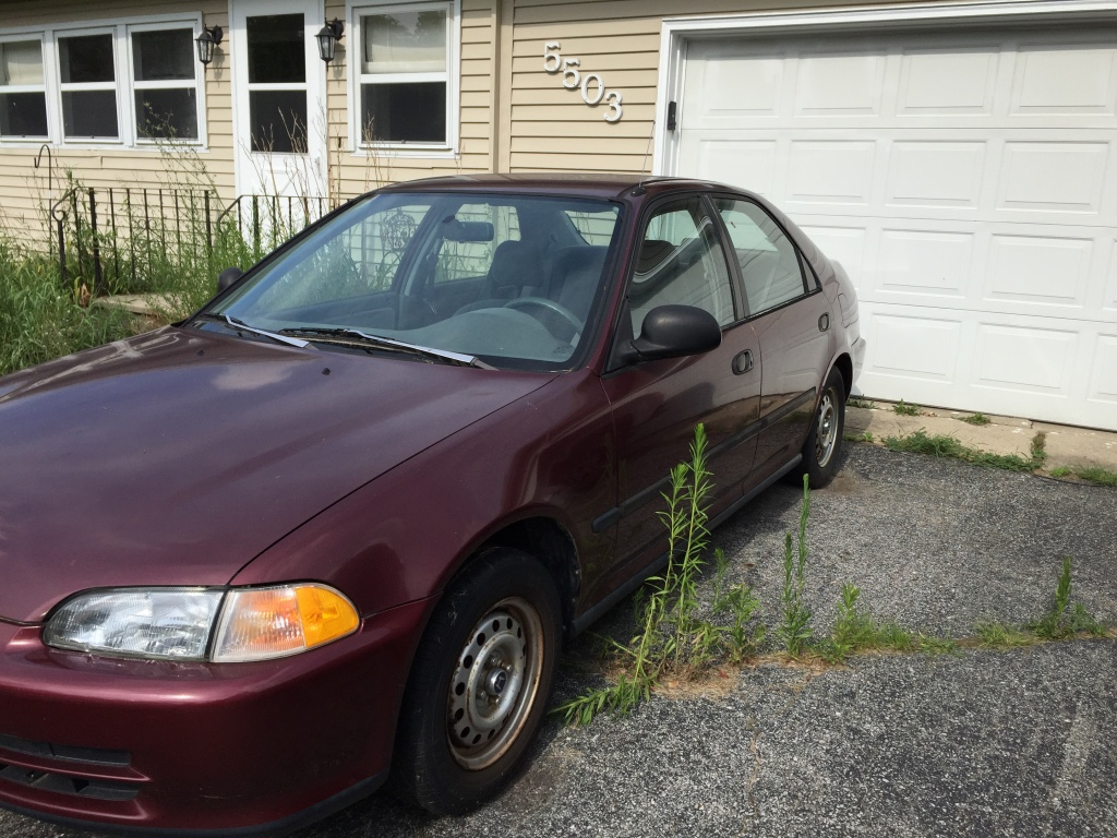 letgo maroon honda civic eg sedan in arcola in