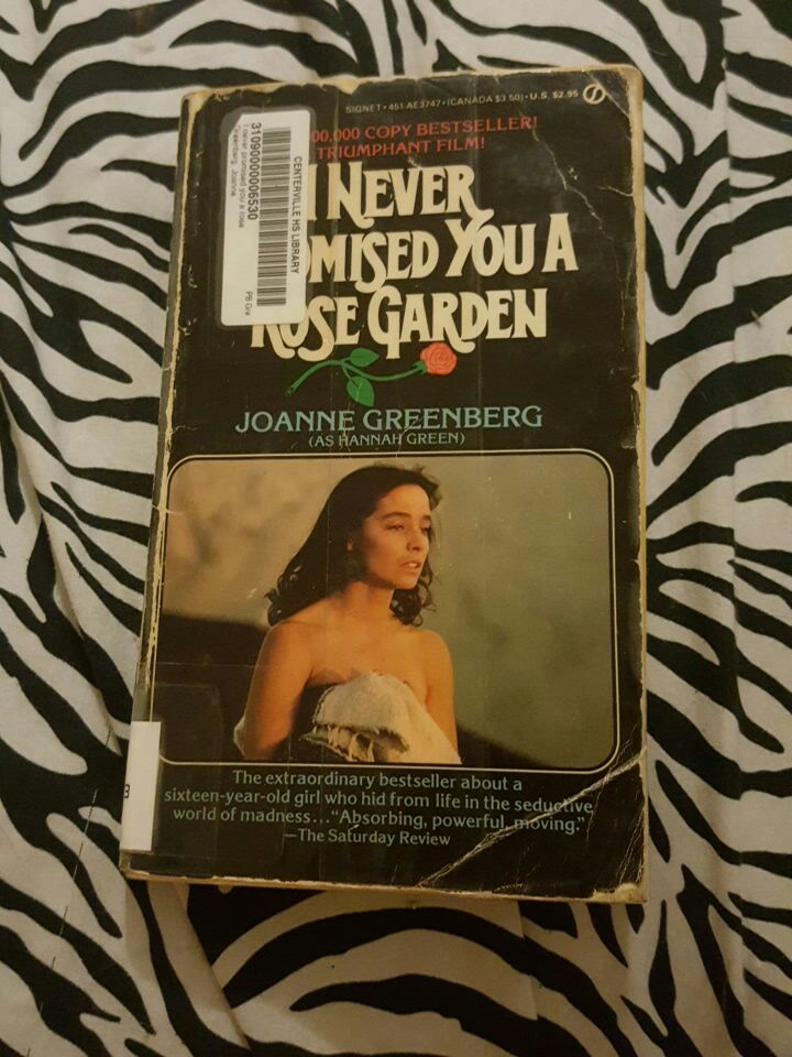 in this sign joanne greenberg ••• i never promised you a rose garden author joanne greenberg speaks about how her bestselling novel—about recovery from.