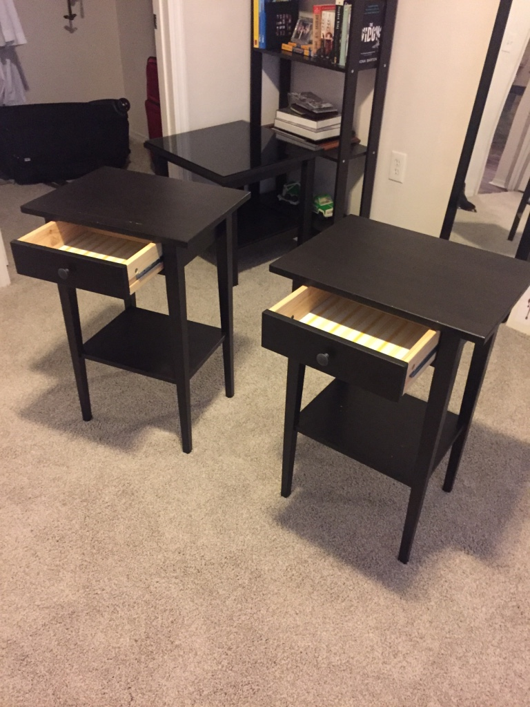 letgo ikea wooden base glass top in atlantic beach fl. Black Bedroom Furniture Sets. Home Design Ideas