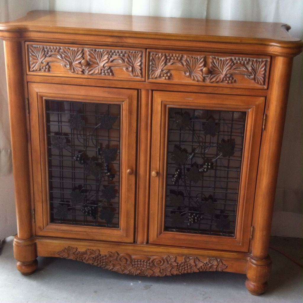 Virginia Naval Amphibious Base Home And Garden Buffet Wine Credenza. Full resolution  portrait, nominally Width 1024 Height 1024 pixels, portrait with #7B4328.
