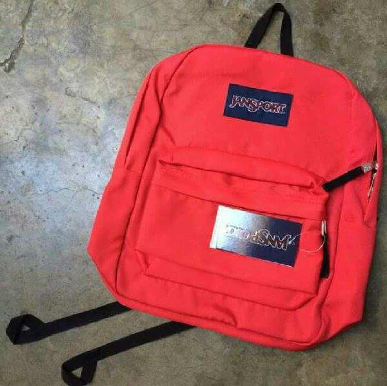 jansport plain colored superbreak back in calauag letgo