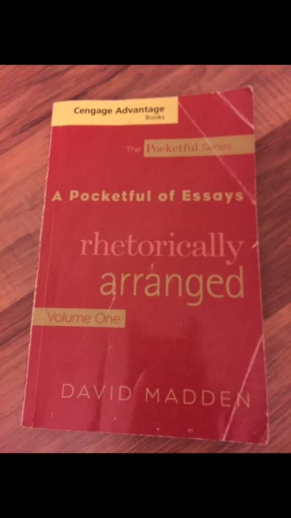 a pocketful of essays rhetorically arranged