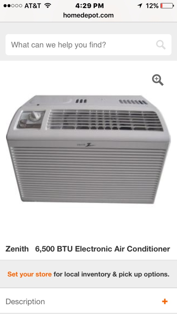 Letgo Zenith Air Conditioning In Buckingham Tx