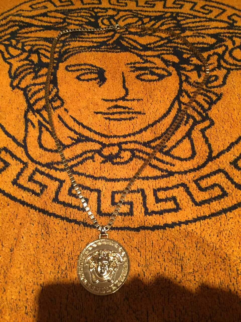 versace necklace last