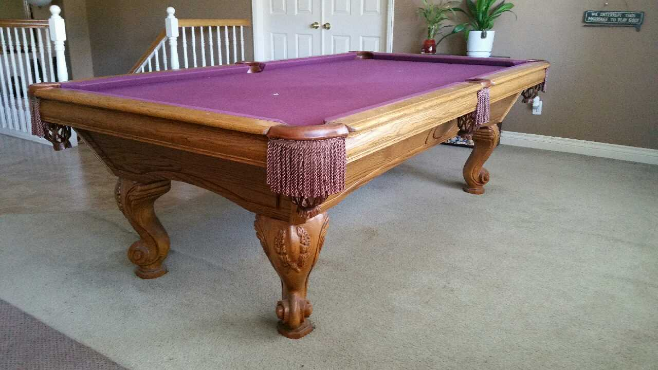 letgo pool table full 1 inch slate 750 in lodi ca