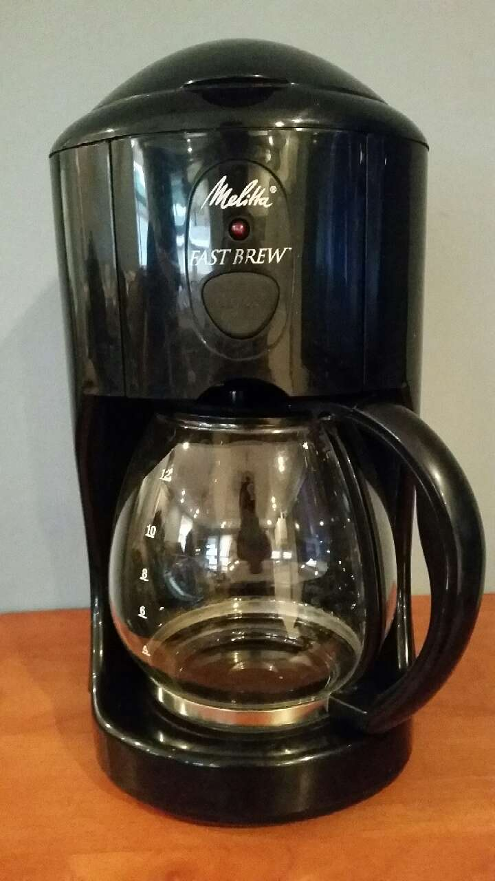 Coffee Maker Clean Button : letgo - Melitta Fast Brew 12 Cup M... in East Long Beach, CA