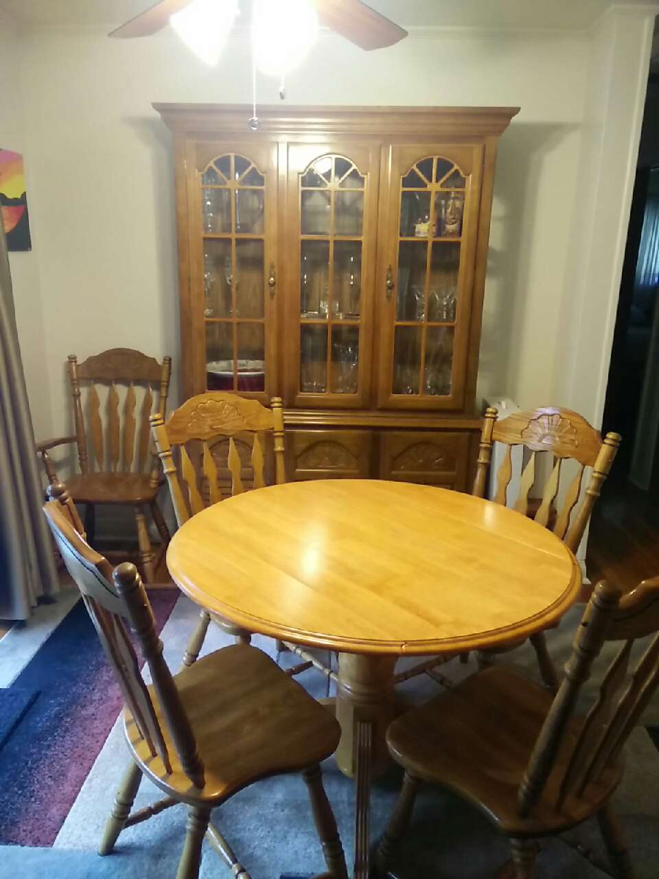 letgo dining room table 5 chairs in greentree pa