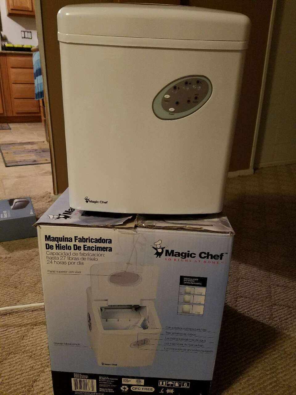 Countertop Ice Maker How Does It Work : Home Virginia Hampton Home and Garden Countertop Ice Maker
