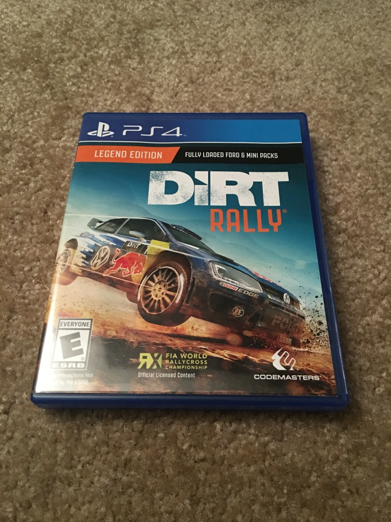 letgo ps4 dirt rally game in emeryville ca. Black Bedroom Furniture Sets. Home Design Ideas