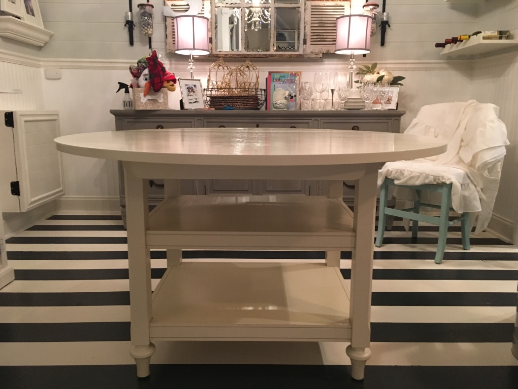 Letgo pottery barn shayne drop leaf in dawsonville ga - Shayne kitchen table ...