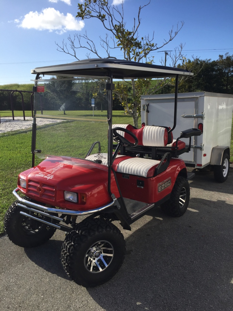 Letgo 2007 Ezgo Gas Golf Cart In South Bay Fl