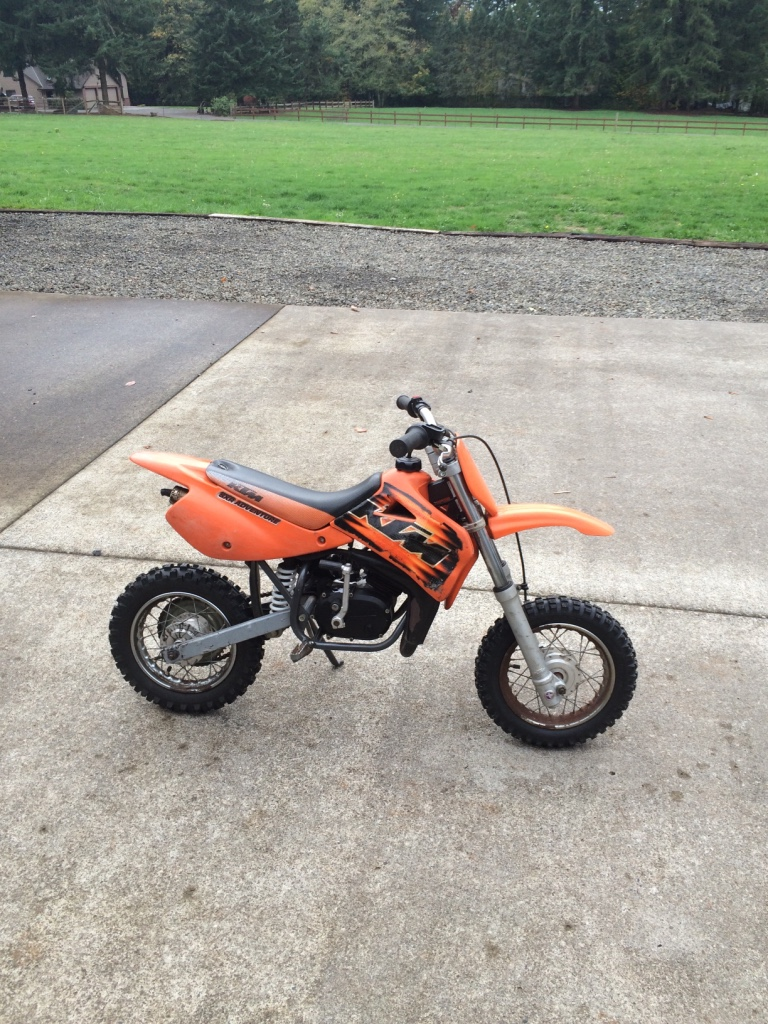 letgo 50cc ktm in newberg or. Black Bedroom Furniture Sets. Home Design Ideas