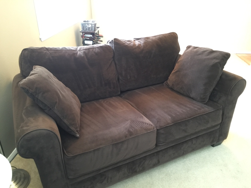 Letgo macy 39 s microfiber sofa and love in crown hill wa Microfiber sofa and loveseat set