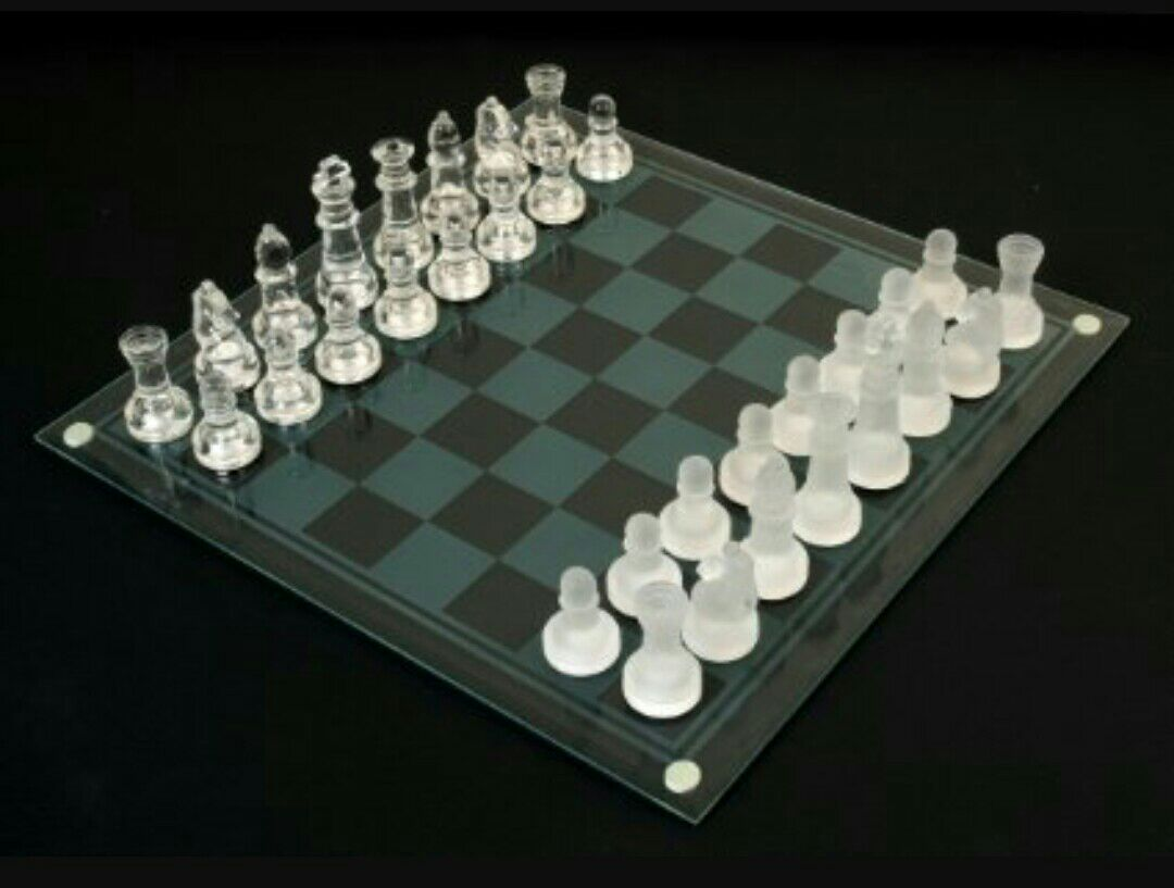 Letgo Glass Chess Set In Franklin Lakes Nj