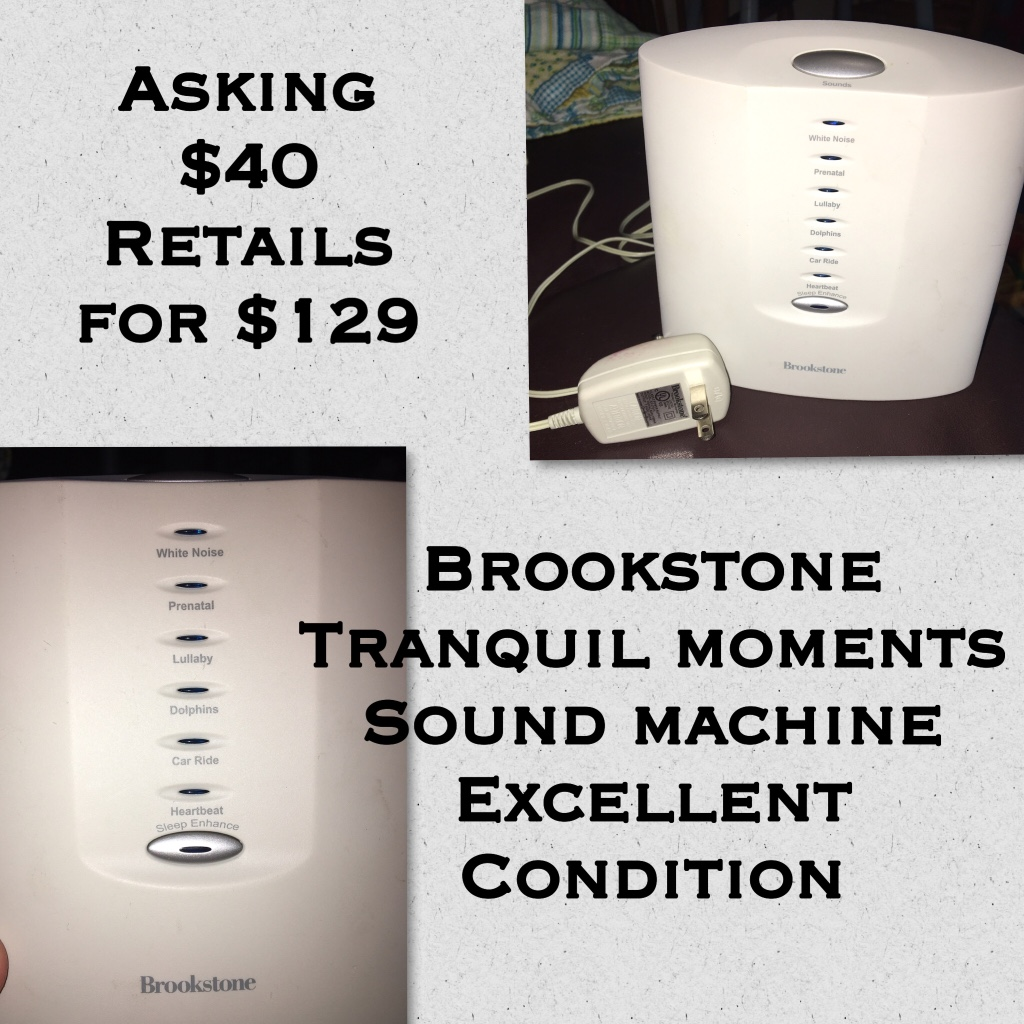brookstone tranquil moments sound machine