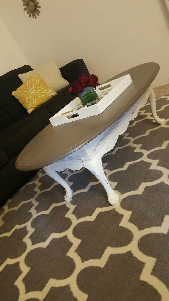 Letgo shabby chic coffee table in pasadena ca for Coffee tables 18 inches wide