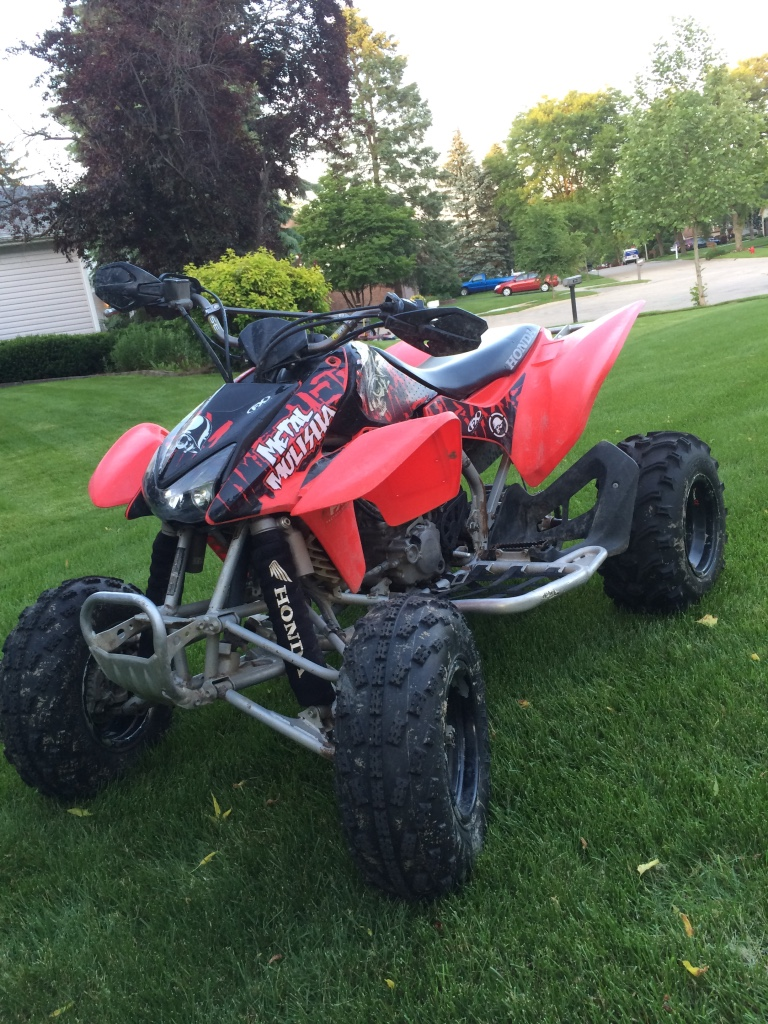 Letgo 2004 Honda Trx 450r In Lake In The Hills Il
