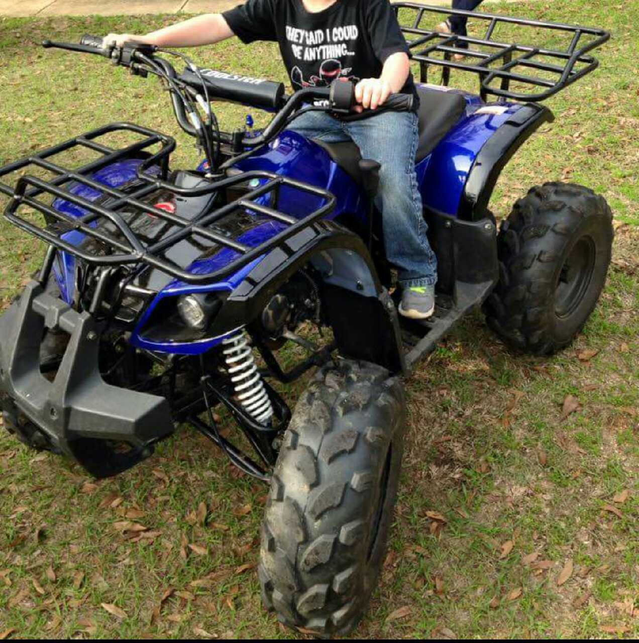how to drive a 4 wheeler