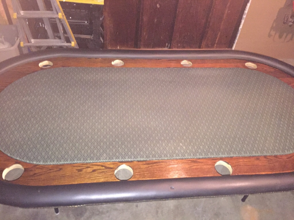 Letgo 10 person custom poker table in carle place ny for 10 person poker table