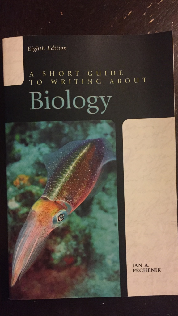 A short guide to writing about biology pechenik pdf