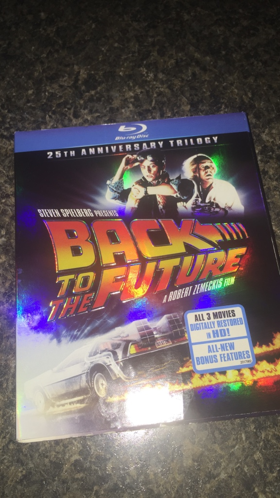 Sports leisure and games back to the future 25th anniversary trilogy