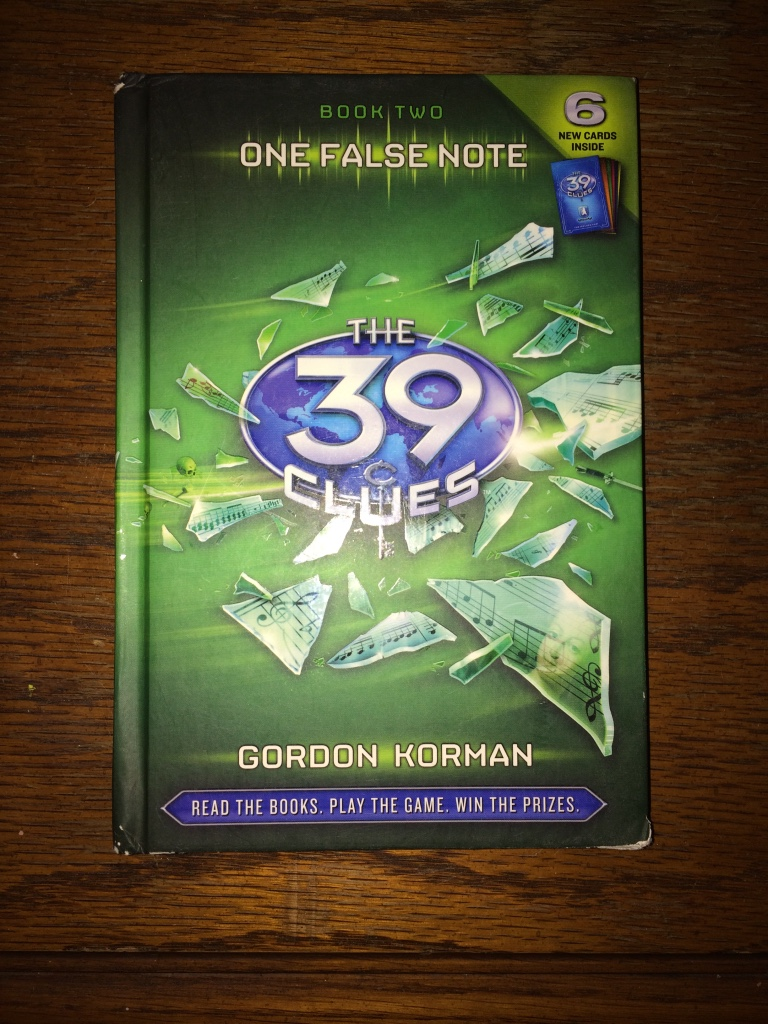 review of 39 clues book 2