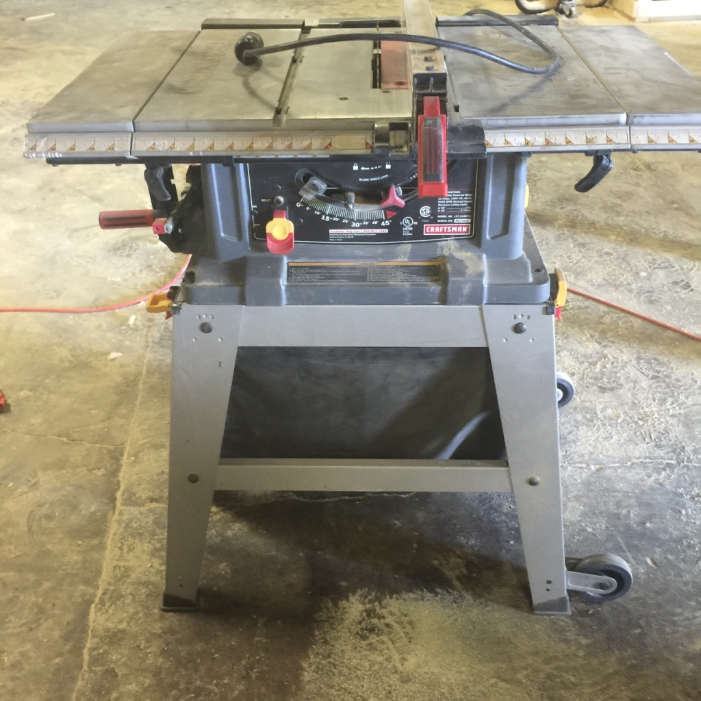 Letgo craftsman 10 table saw in rainbow city al for 10 in table saw craftsman