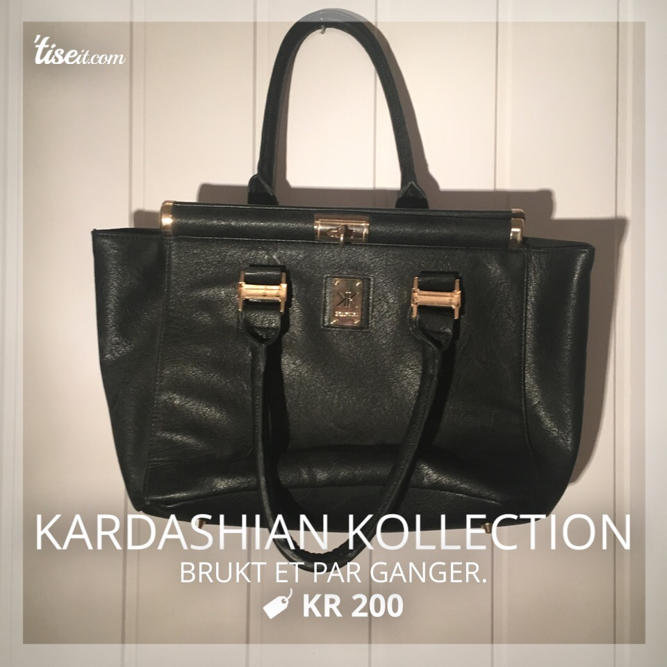 sort skinn Kardashian Kollection