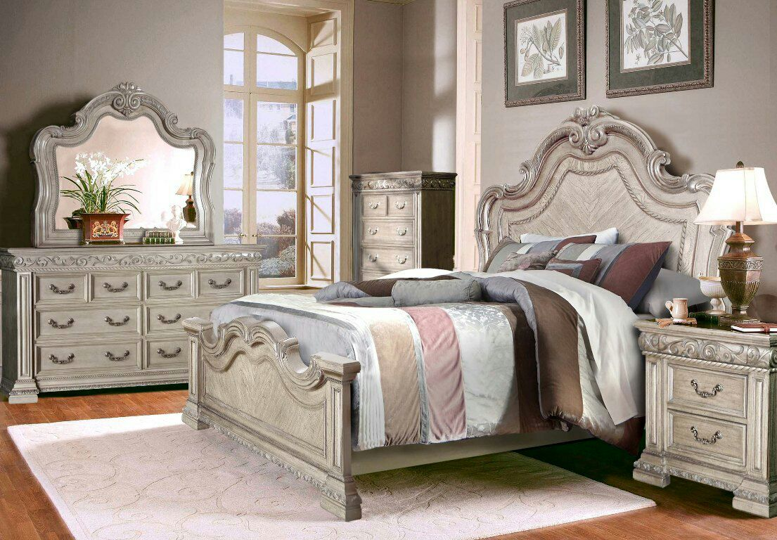 Letgo master bedroom set queen size in winchester nv for Winchester bedroom furniture