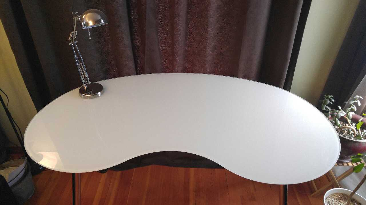 letgo IKEA Glass Desk in Gresham OR