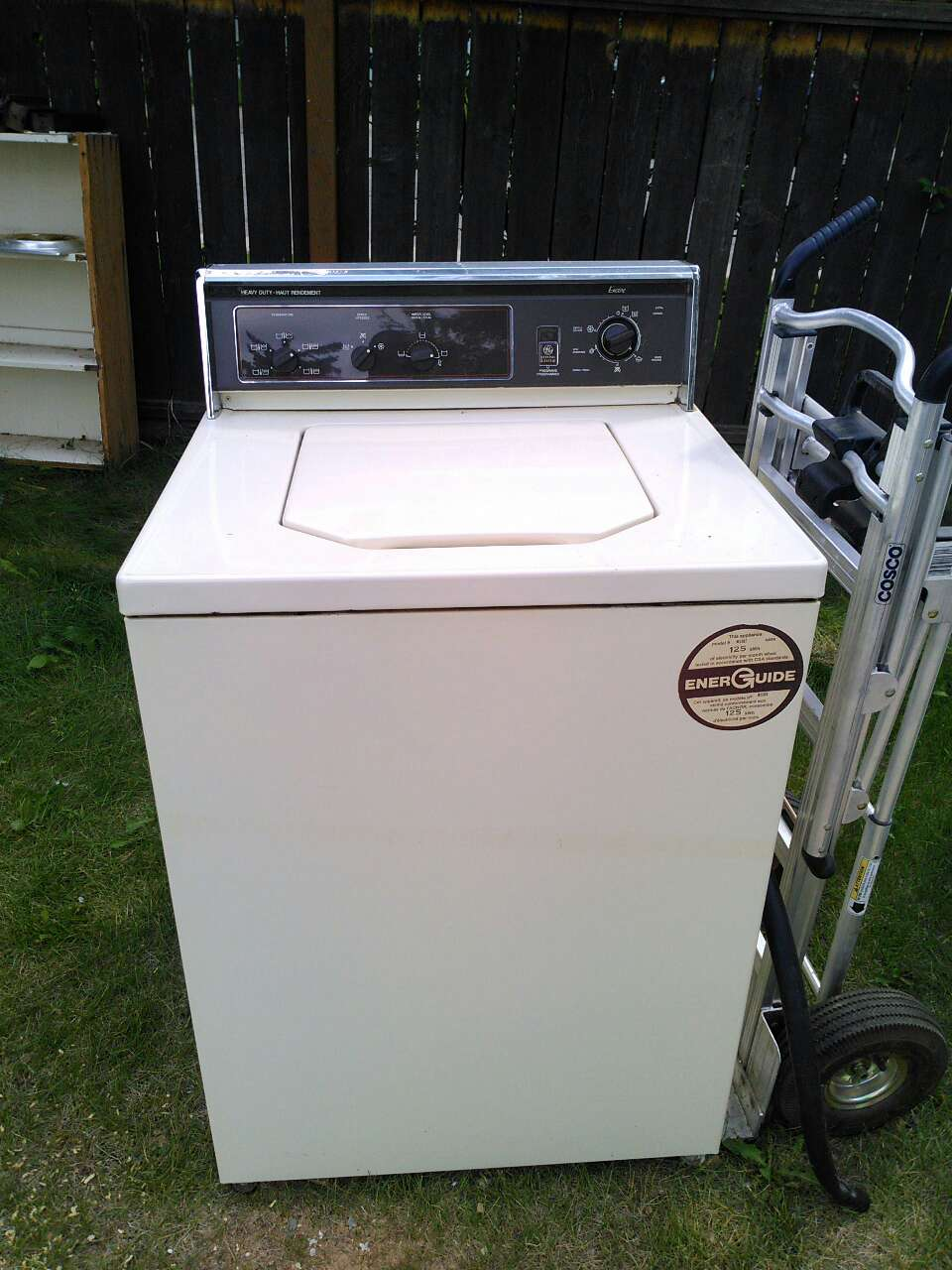 topload washing machine