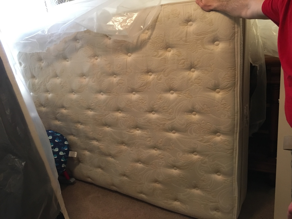 letgo Double pillow top Queen size mat in Riverside OH