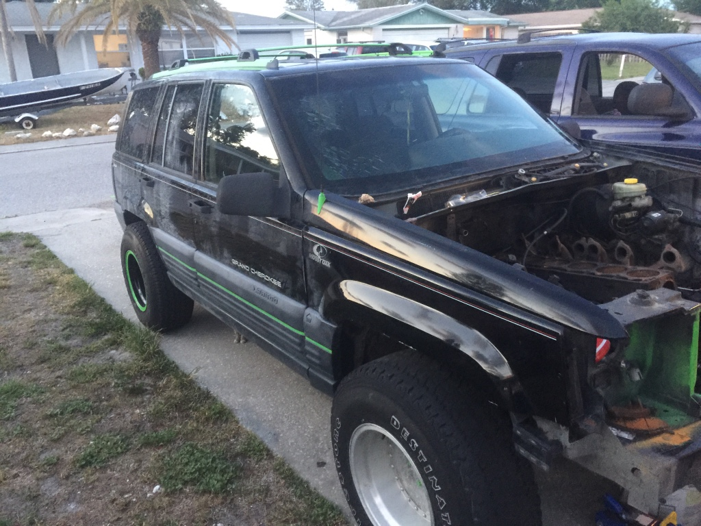 letgo 1996 jeep grand cherokee 4wd project in holiday fl